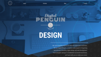 Work example for Digital Penguin